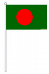 BANGLADESH - HAND WAVING FLAG (MEDIUM)